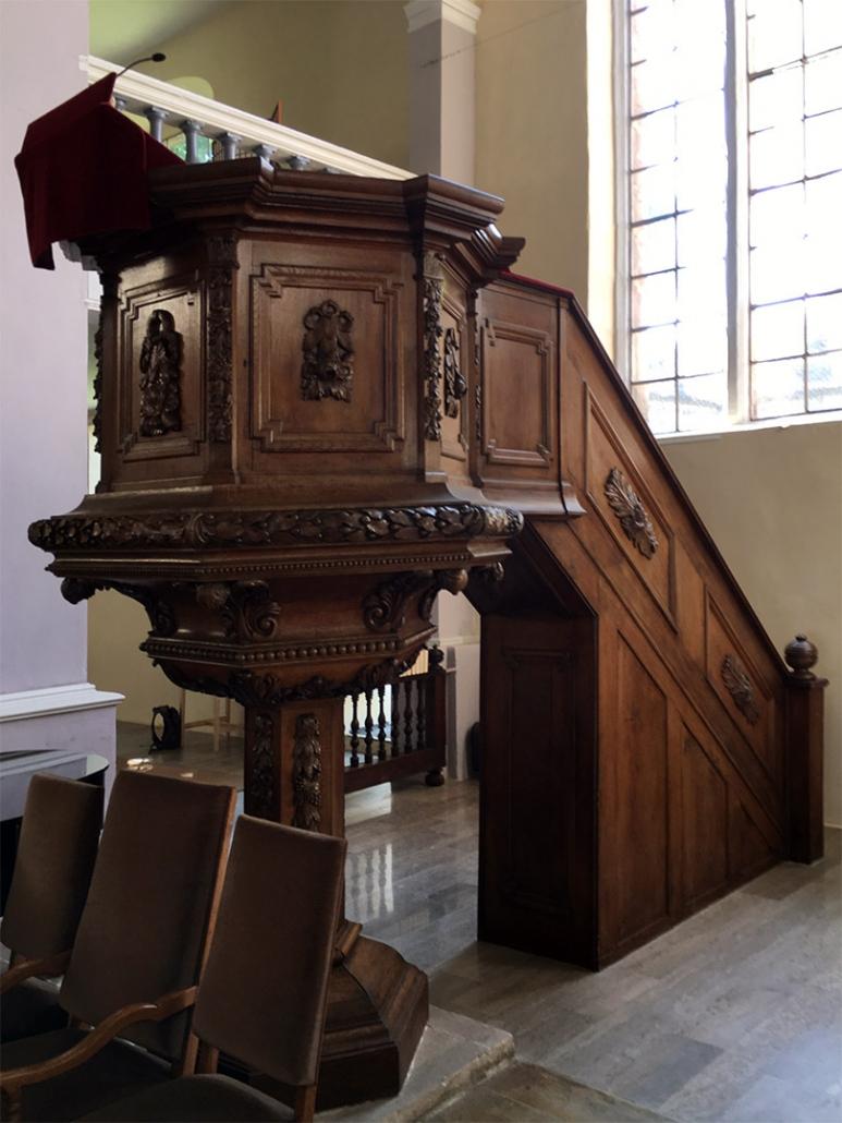 Sanierung Kirchenkanzel